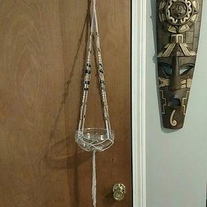 Other - Handmade boho macrame plant hanger 🌱